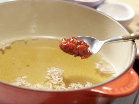 Scharfer Couscous-Salat: Zubereitungsschritt 1
