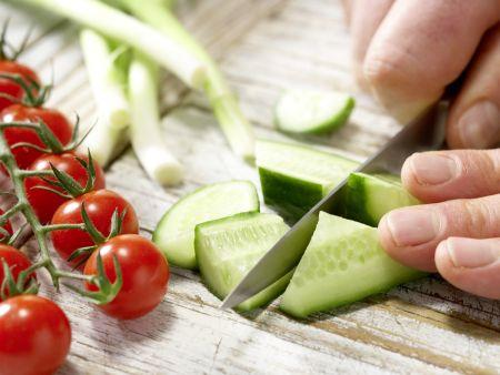 Scharfer Gemüse-Cocktail: Zubereitungsschritt 3