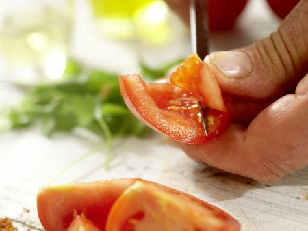 Scharfer Steaksalat: Zubereitungsschritt 2