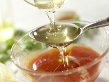 Scharfer Steaksalat: Zubereitungsschritt 3