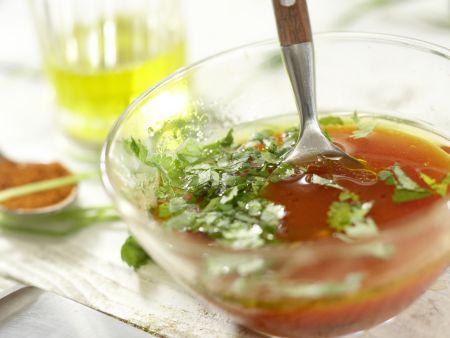 Scharfer Steaksalat: Zubereitungsschritt 4
