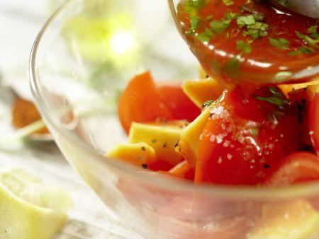 Scharfer Steaksalat: Zubereitungsschritt 5