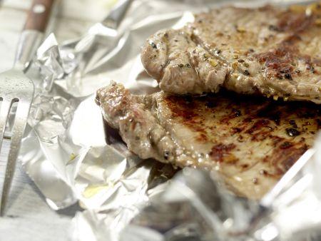 Scharfer Steaksalat: Zubereitungsschritt 8
