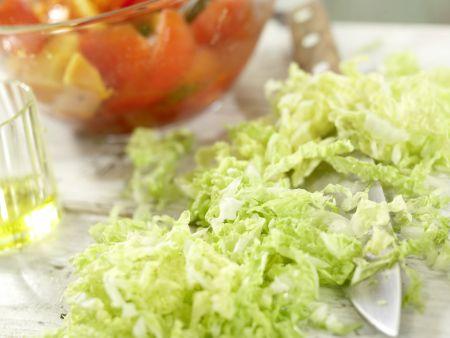 Scharfer Steaksalat: Zubereitungsschritt 9