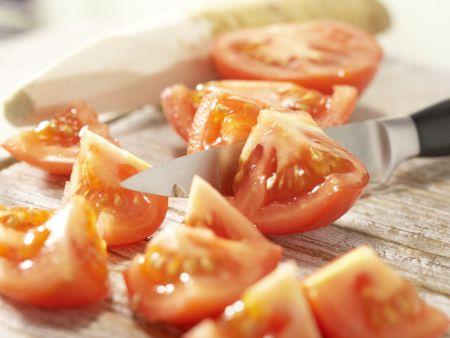 Scharfer Tomaten-Cocktail: Zubereitungsschritt 1