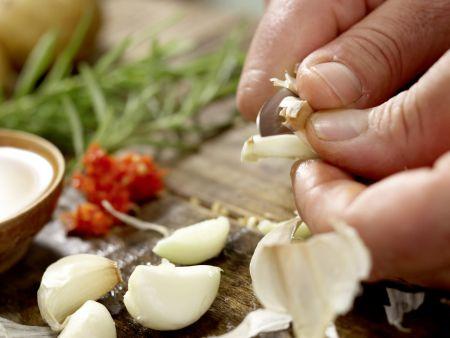 Scharfes Hähnchen: Zubereitungsschritt 2