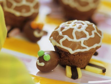 Rezept: Schildkröten-Muffins