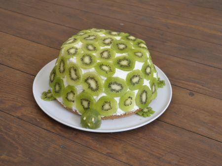 Schildkröten-Torte: Zubereitungsschritt 11