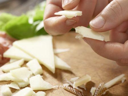 Schinken-Käse-Salat: Zubereitungsschritt 4