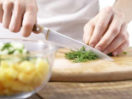 Schnelle Putenschnitzel: Zubereitungsschritt 3