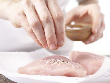 Schnelle Putenschnitzel: Zubereitungsschritt 5