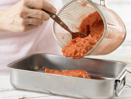 Schnelles Erdbeersorbet: Zubereitungsschritt 4