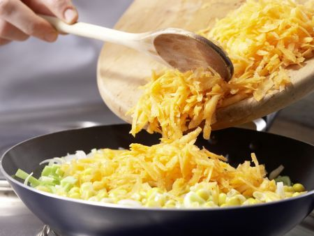 Schneller Gemüse-Risotto: Zubereitungsschritt 4