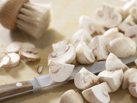 Schnelles Hühnerfrikassee: Zubereitungsschritt 3