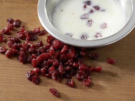 Schoko-, Chai- und Cranberry-Eis: Zubereitungsschritt 5