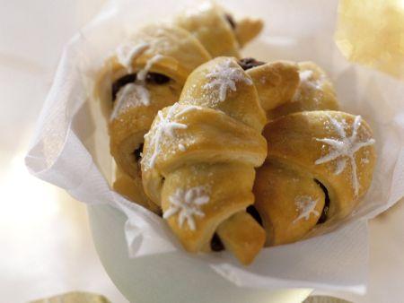 Rezept: Schoko-Nuss-Croissants