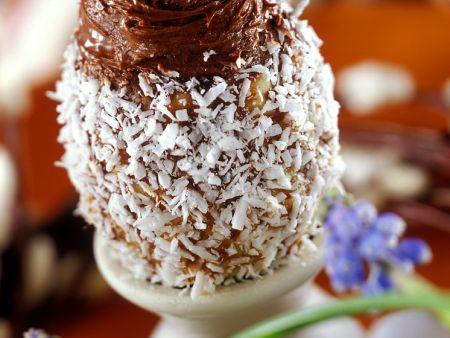 Schoko-Trüffel mit Kokos