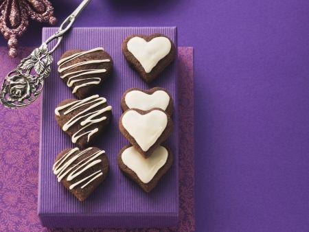 Schokoladenherzen