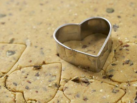 Schokoladenherzen: Zubereitungsschritt 5