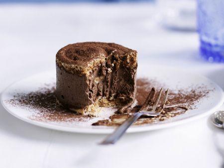 Schokoladentörtchen nach französischer Art (Dacquoise)