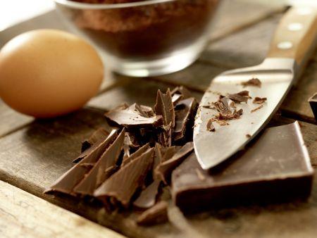 Schokoladentorte ohne Mehl: Zubereitungsschritt 1