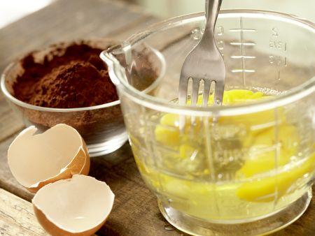 Schokoladentorte ohne Mehl: Zubereitungsschritt 3
