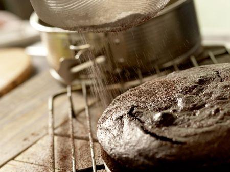 Schokoladentorte ohne Mehl: Zubereitungsschritt 6