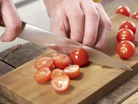 Schollenfilets aus dem Ofen: Zubereitungsschritt 1