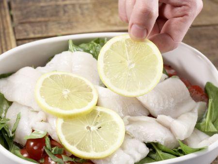 Schollenfilets aus dem Ofen: Zubereitungsschritt 6