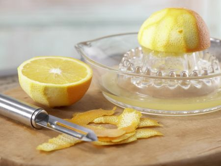Schollenfilets in Orangensauce: Zubereitungsschritt 2