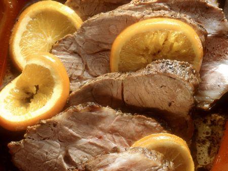 Schweinebraten auf andalusische Art