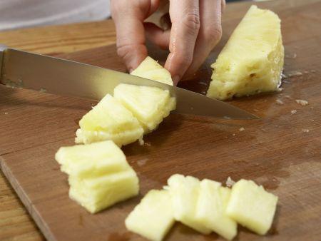 Schweinefilet mit Paprikagemüse: Zubereitungsschritt 2