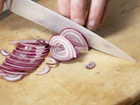 Schweinefilet-Röllchen: Zubereitungsschritt 1