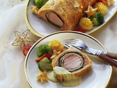 Schweinefilet Wellington
