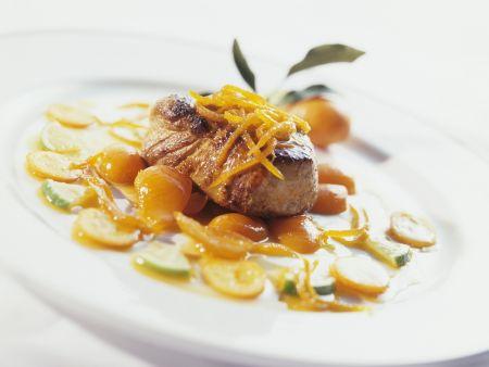 Rezept: Schweinemedaillon mit Kumquat