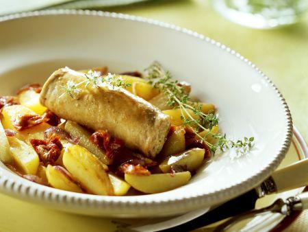 Rezept: Schwertfisch-Involtini