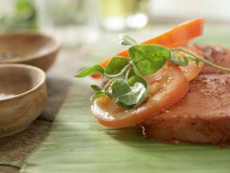 Schwertfisch nach mexikanischer Art: Zubereitungsschritt 6