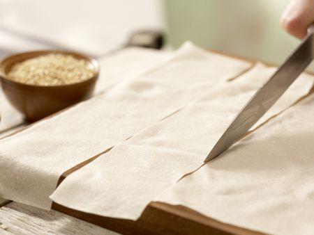Seelachs-Medaillons »Goldtaler«: Zubereitungsschritt 1