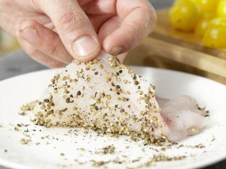 Seeteufelschnitzel: Zubereitungsschritt 5