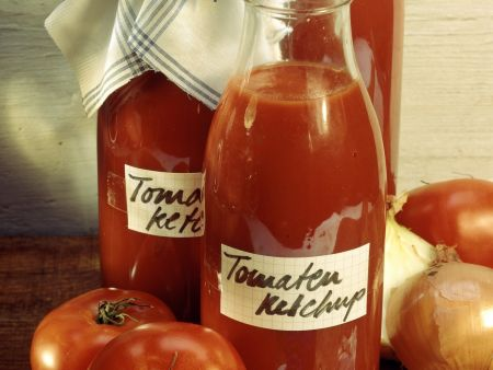 Selbstgemachtes Tomatenketchup