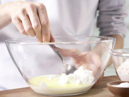 Sellerie-Apfel-Pizza: Zubereitungsschritt 1