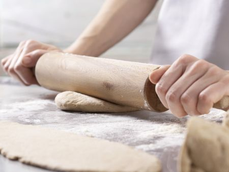 Sellerie-Apfel-Pizza: Zubereitungsschritt 5