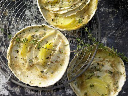 Sellerie-Kartoffel-Gratin