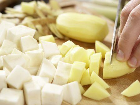 Selleriesuppe: Zubereitungsschritt 3