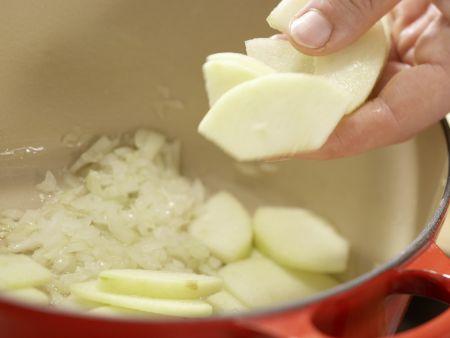 Selleriesuppe: Zubereitungsschritt 4