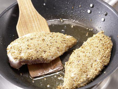 Sesam-Hähnchen: Zubereitungsschritt 7