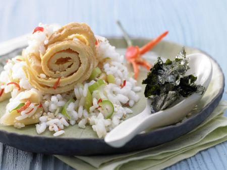 Sesam-Sushi-Reis