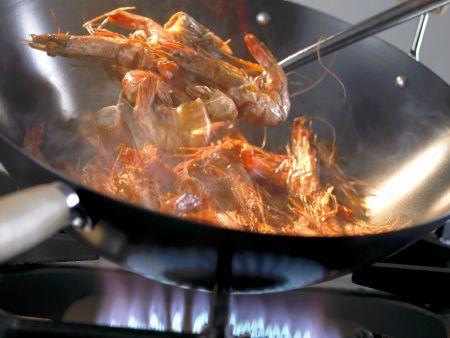 Rezept: Shrimps aus dem Wok