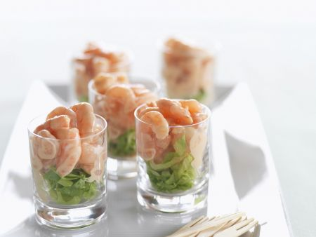 Shrimps-Cocktail