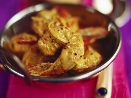 Shrimps-Curry